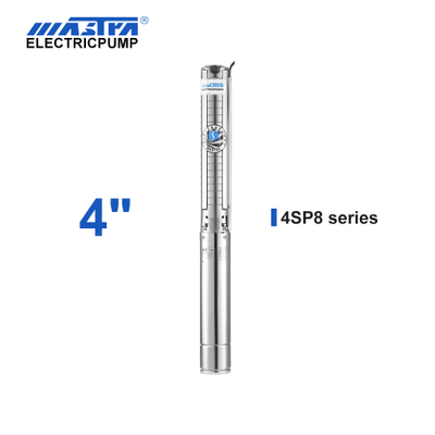 Mastra 4 inch stainless steel submersible pump - 4SP series 8 m³/h rated flow banjo pump
